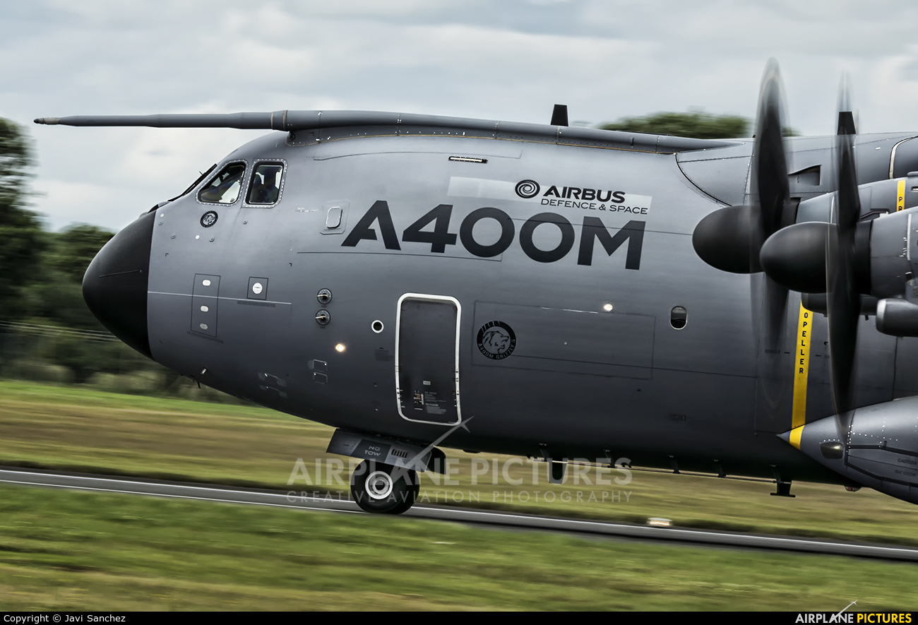 Airbus Military EC-406 aircraft at Fairford