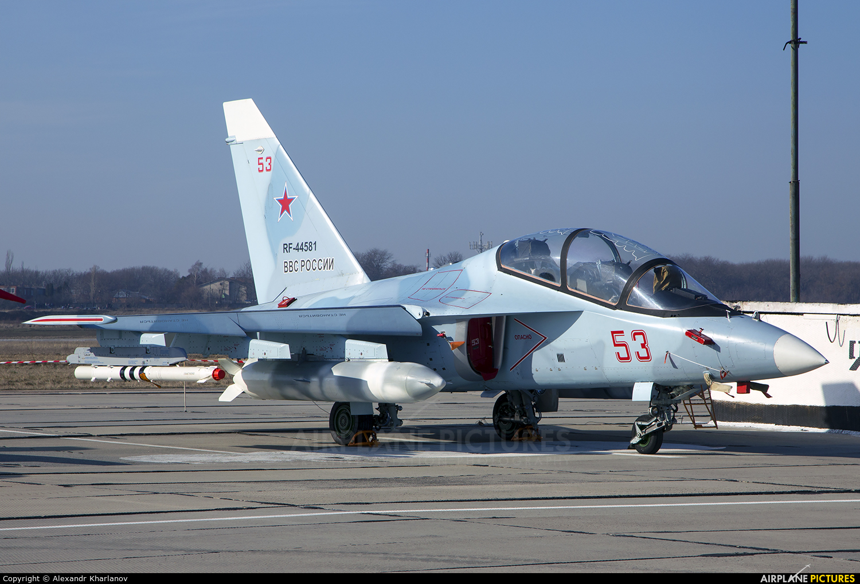 Russia - Air Force RF-44581 aircraft at Armavir Air Base