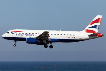 G-GATK - British Airways Airbus A320