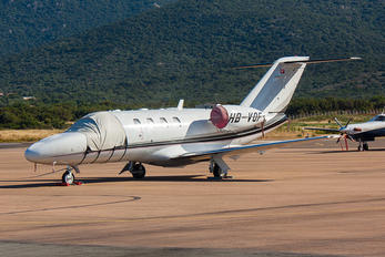 HB-VOF - TAG Aviation Cessna 525 CitationJet