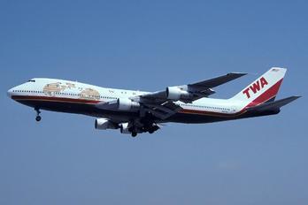 N93108 - TWA Boeing 747-100