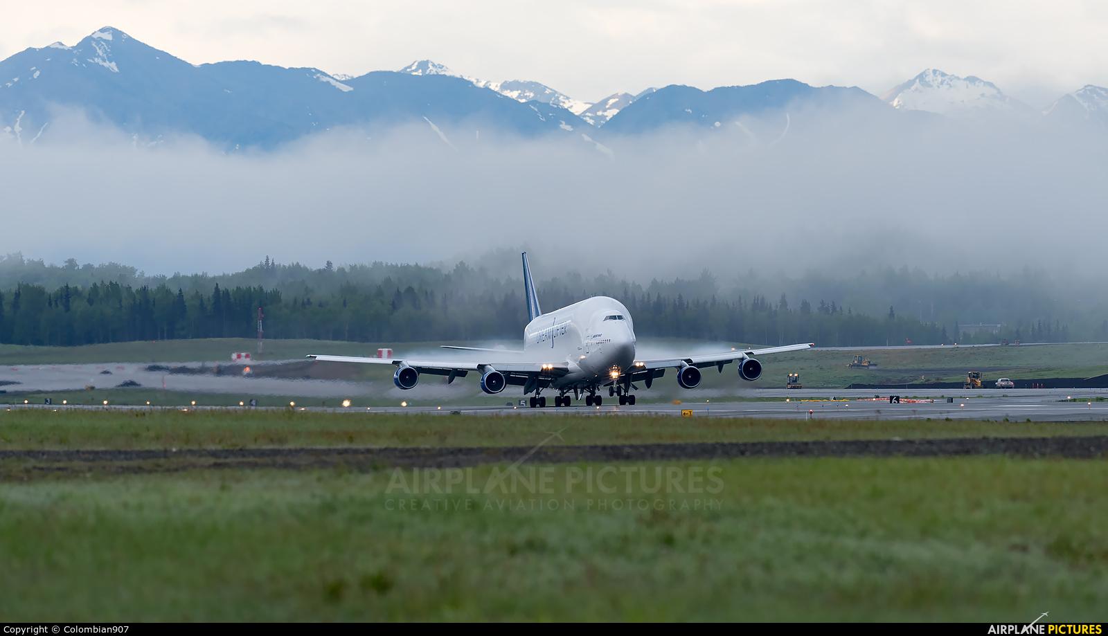 Boeing Company N747BC aircraft at Anchorage - Ted Stevens Intl / Kulis Air National Guard Base