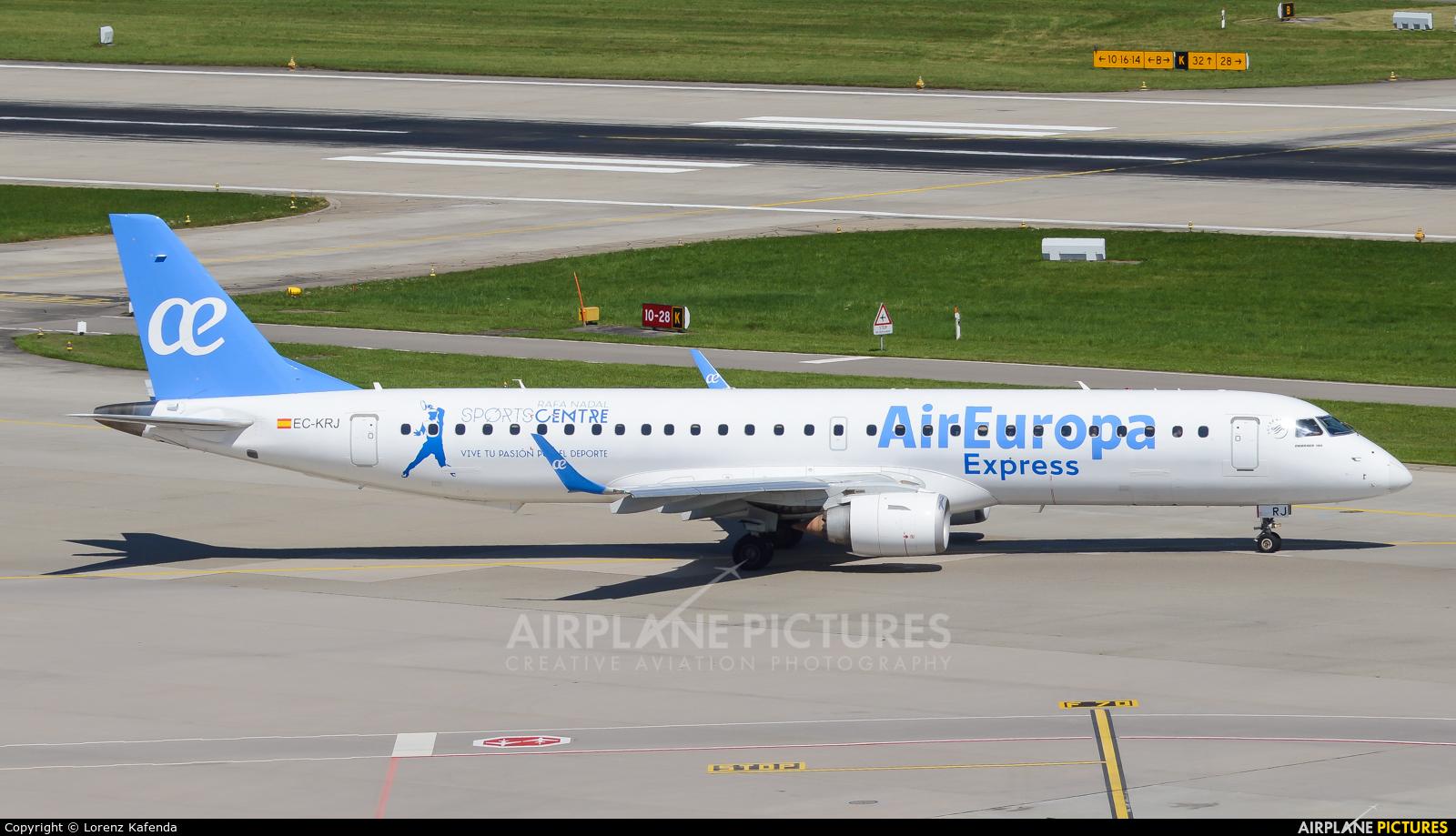 Air Europa EC-KRJ aircraft at Zurich