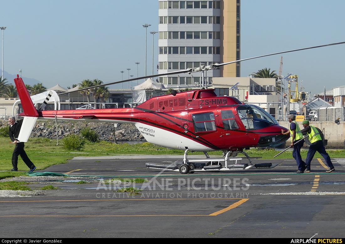 Base 4 ZS-HMB aircraft at V&A Waterfront Heliport