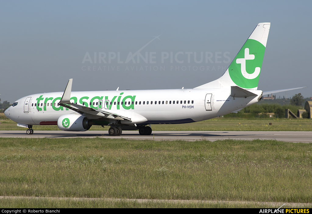 Transavia PH-HSM aircraft at Verona - Villafranca