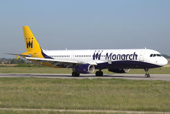 G-OZBT - Monarch Airlines Airbus A321