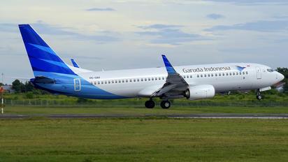 PK-GNV - Garuda Indonesia Boeing 737-800