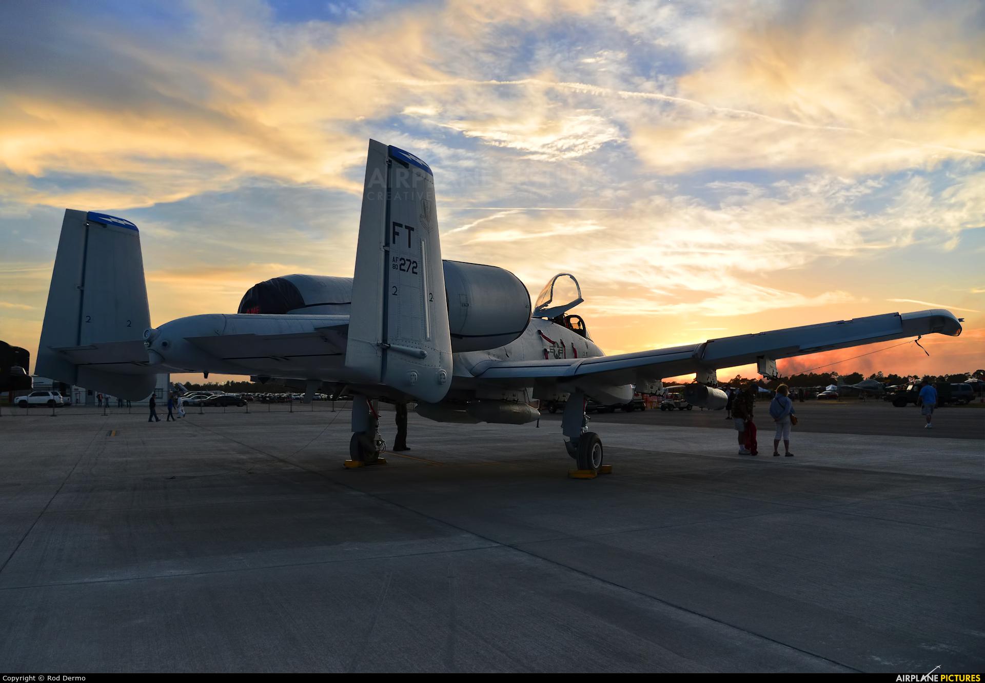 USA - Air Force 80-0272 aircraft at Titusville (Cocoa Beach) - Space Coast Regional