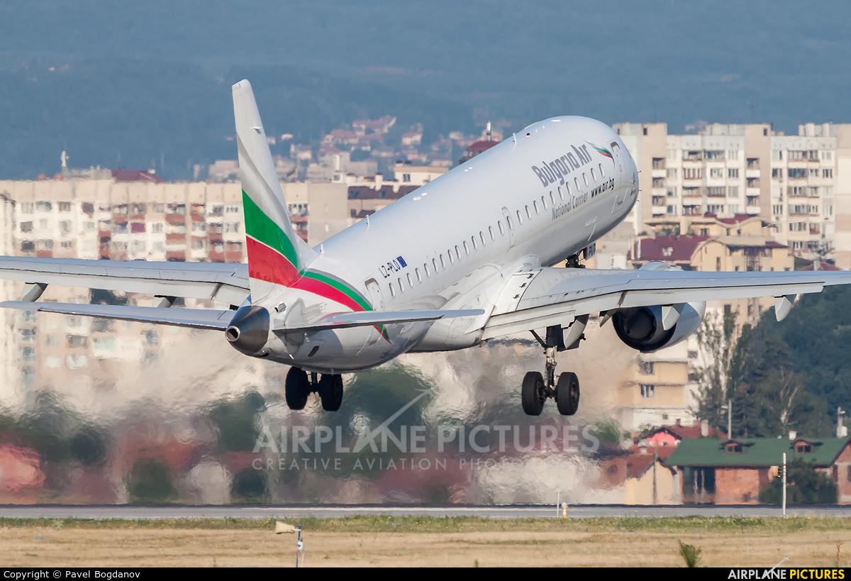 Bulgaria Air LZ-PLO aircraft at Sofia