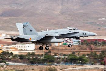 C.15-83 - Spain - Air Force McDonnell Douglas EF-18A Hornet