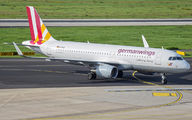 D-AIUO - Germanwings Airbus A320 aircraft