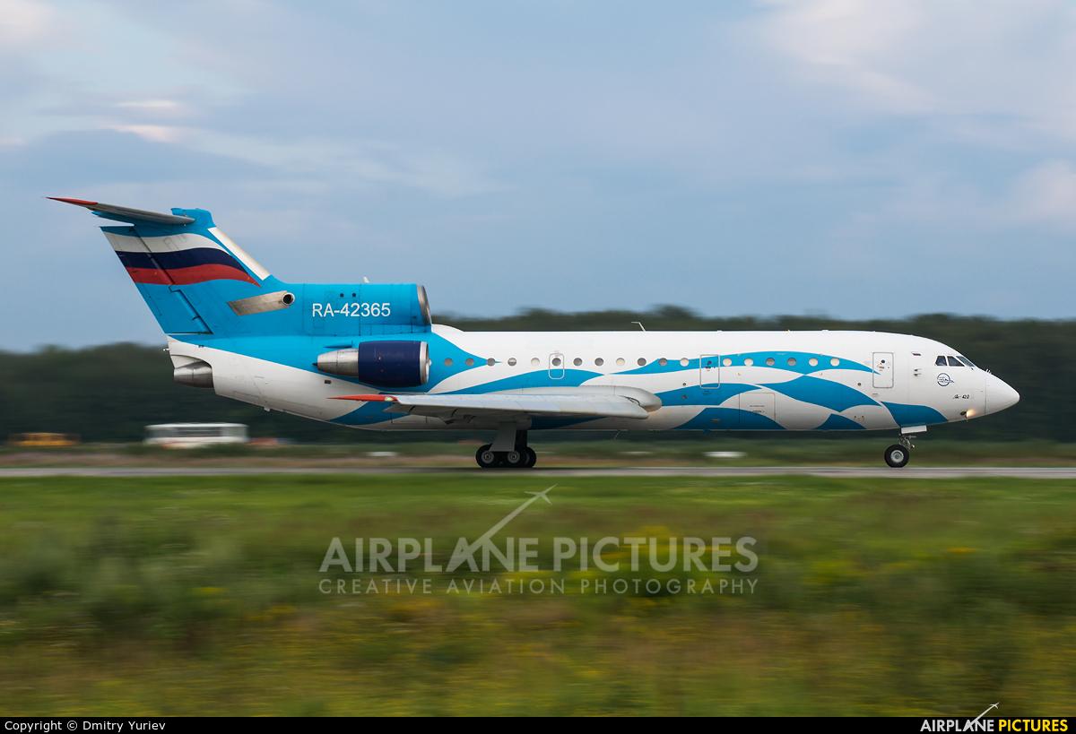 Grozny Avia RA-42365 aircraft at Nizhniy Novgorod