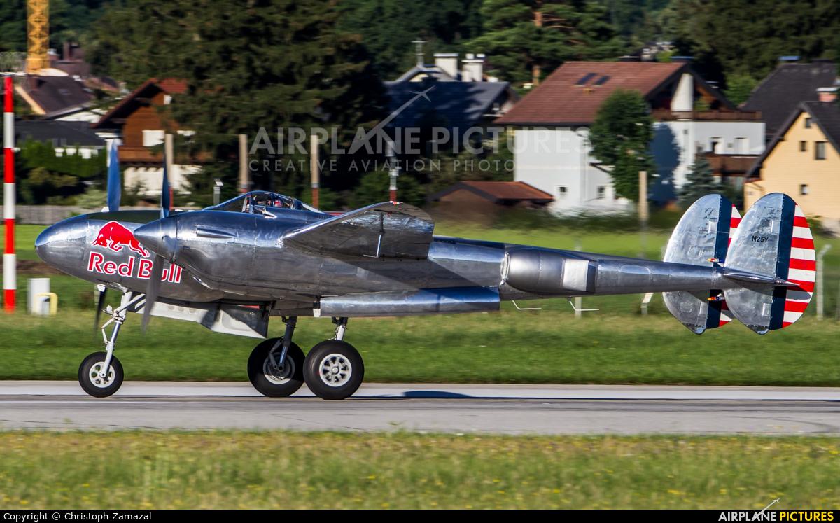 The Flying Bulls N25Y aircraft at Salzburg