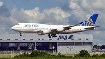 N175UA - United Airlines Boeing 747-400 aircraft