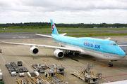 HL7633 - Korean Air Boeing 747-8 aircraft
