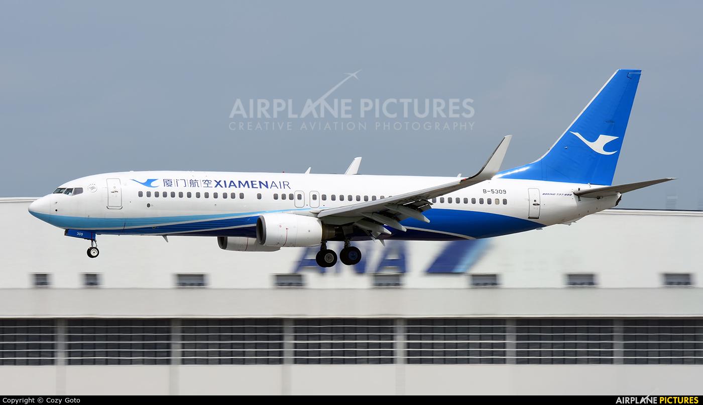 Xiamen Airlines B-5309 aircraft at Tokyo - Narita Intl