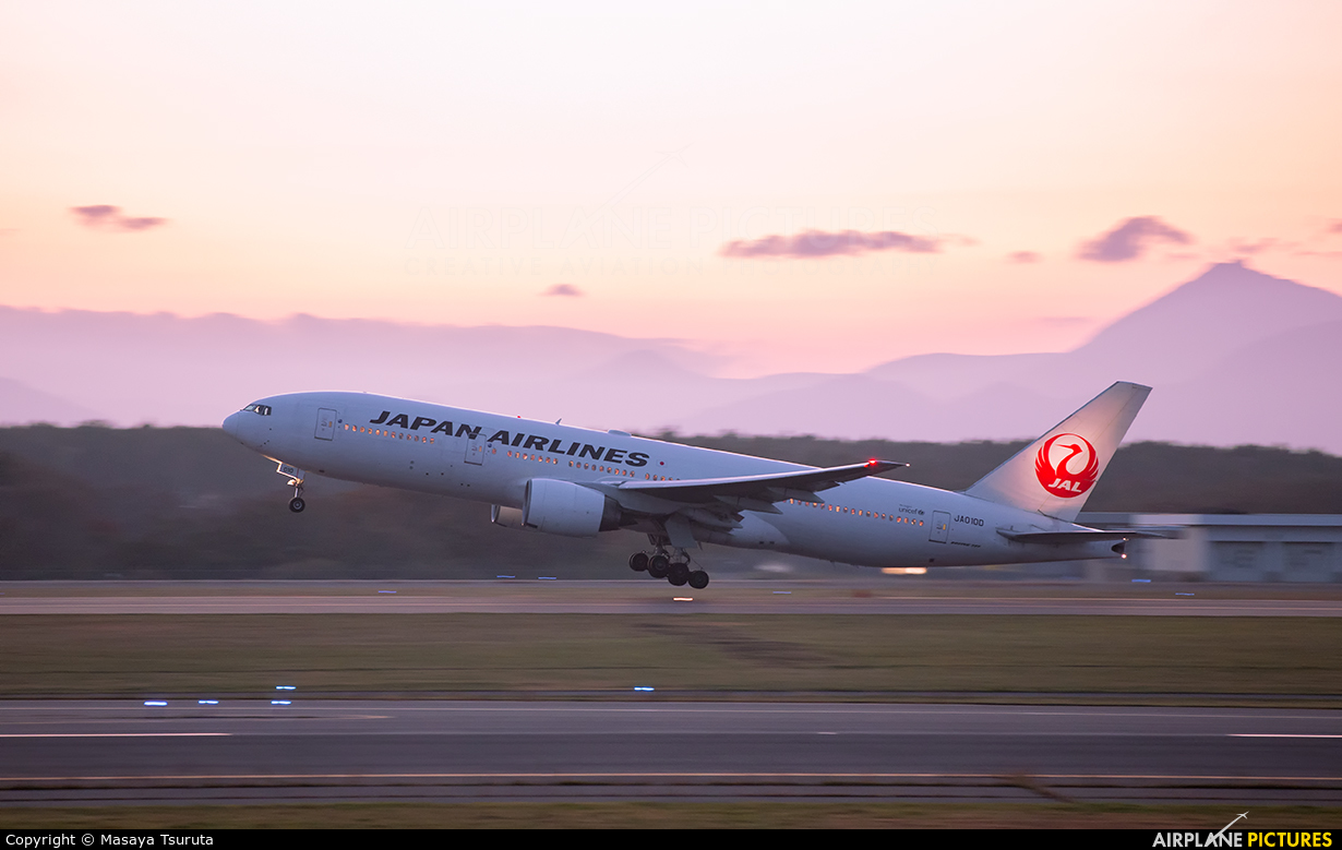 JAL - Japan Airlines JA010D aircraft at New Chitose
