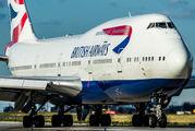 G-CIVL - British Airways Boeing 747-400 aircraft