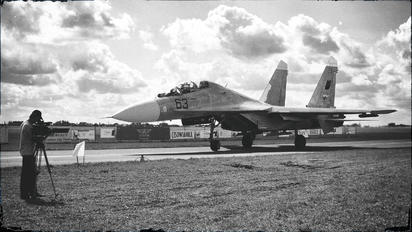 63 - Belarus - Air Force Sukhoi Su-27SM3
