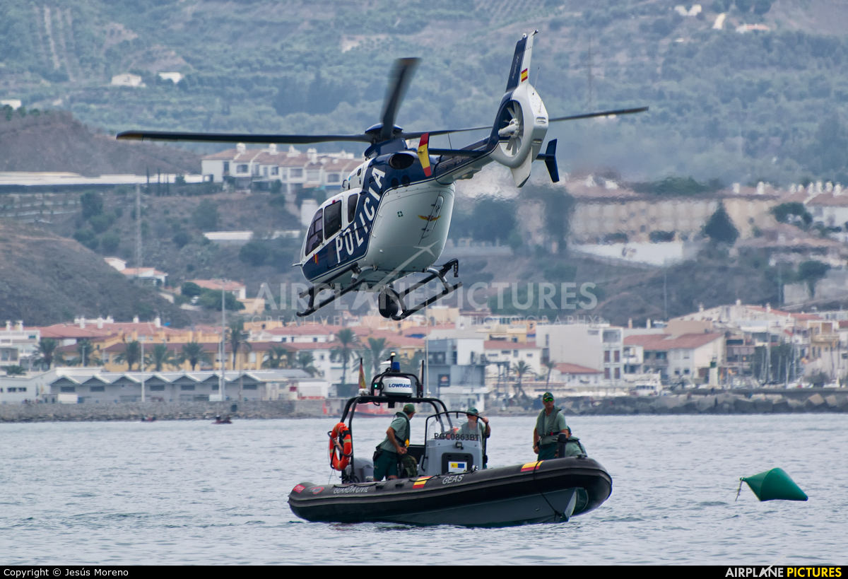 Spain - Police EC-KOA aircraft at Off Airport - Spain