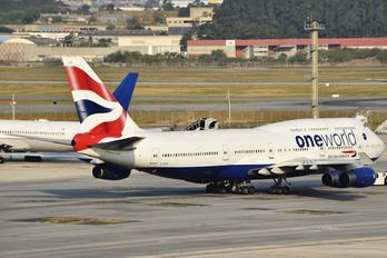 G-CIVD - British Airways Boeing 747-400
