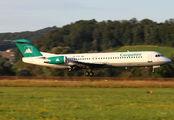 YR-FZA - Carpatair Fokker 100 aircraft