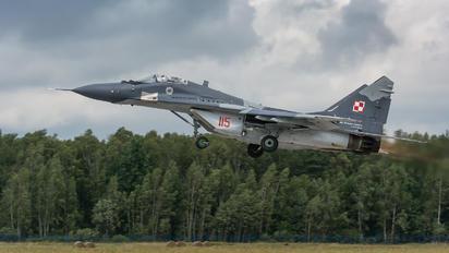 115 - Poland - Air Force Mikoyan-Gurevich MiG-29