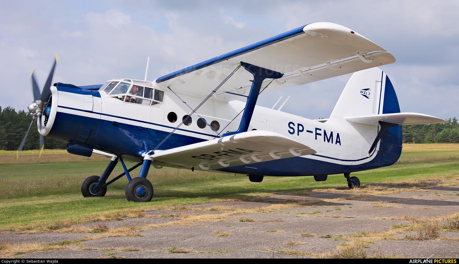 Private SP-FMA aircraft at Borne Sulinowo