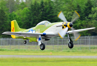 N6306T - Private North American P-51D Mustang