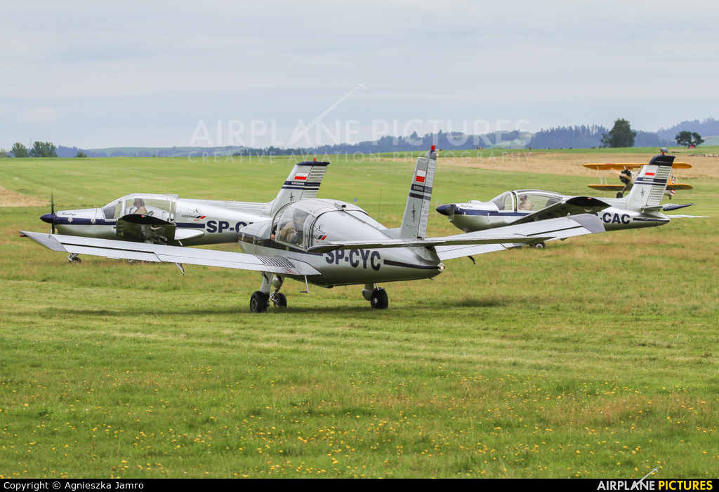 Private SP-CYC aircraft at Nowy Targ