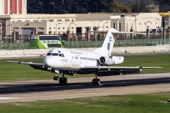TC-54 - Argentina - Air Force Fokker F28