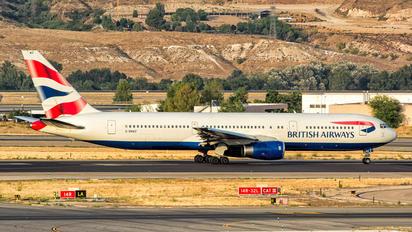 G-BNWZ - British Airways Boeing 767-300