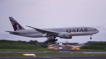 A7-BBC - Qatar Airways Boeing 777-200LR