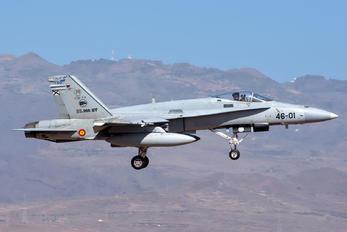 C.15-73 - Spain - Air Force McDonnell Douglas F/A-18A Hornet
