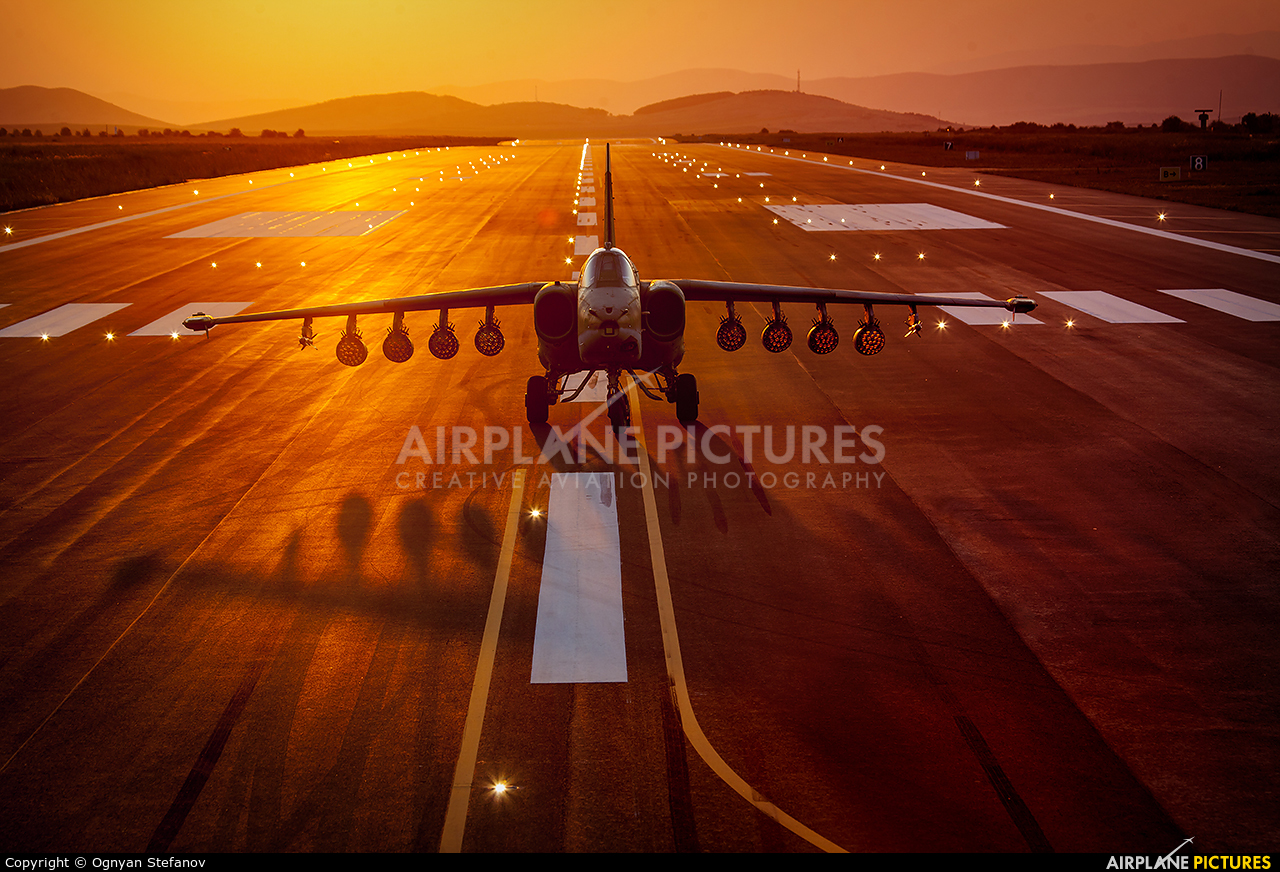 Bulgaria - Air Force 197 aircraft at Bezmer