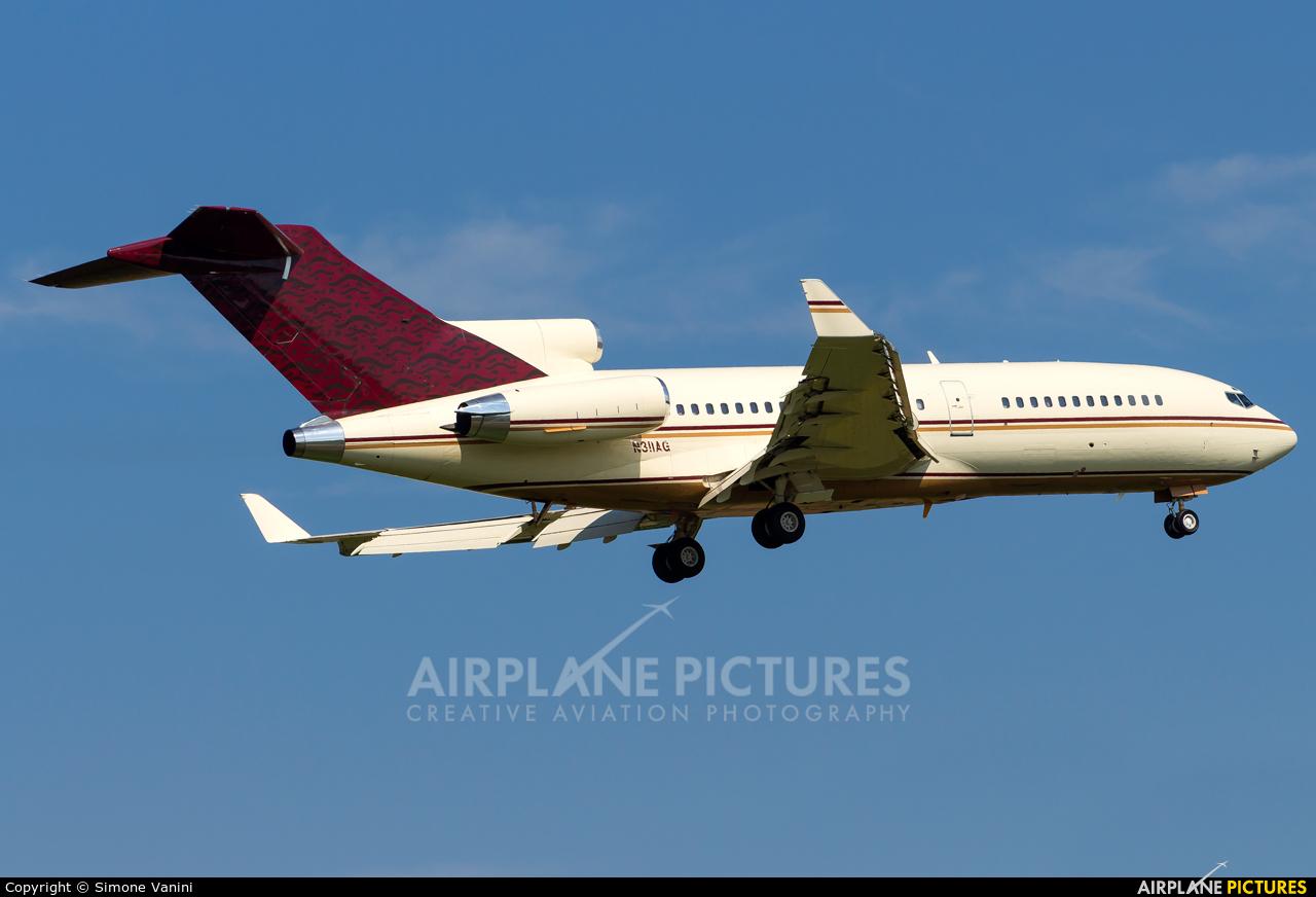 Private N311AG aircraft at Verona - Villafranca