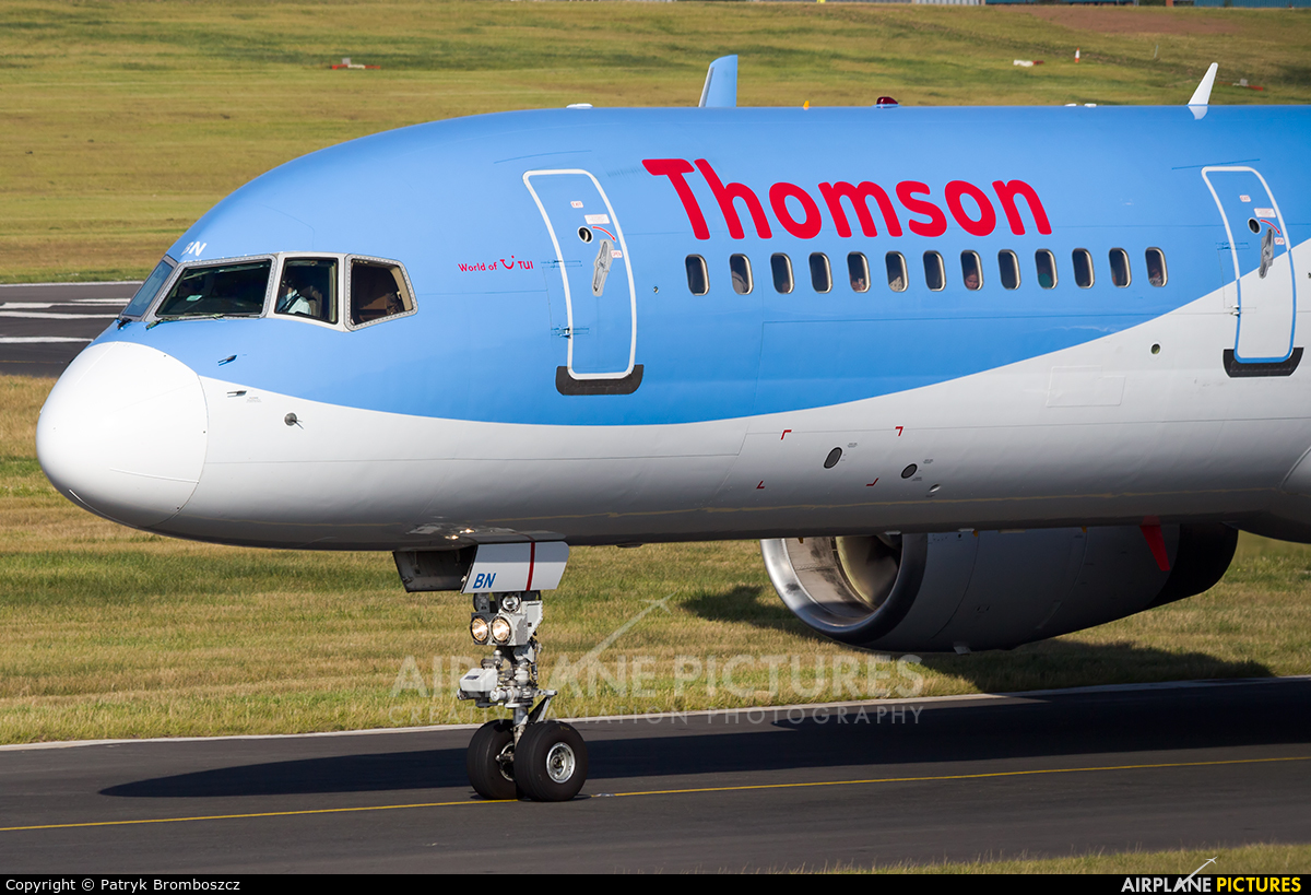 Thomson/Thomsonfly G-OOBN aircraft at Birmingham