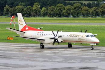 HB-IZP - Etihad Regional - Darwin Airlines SAAB 2000