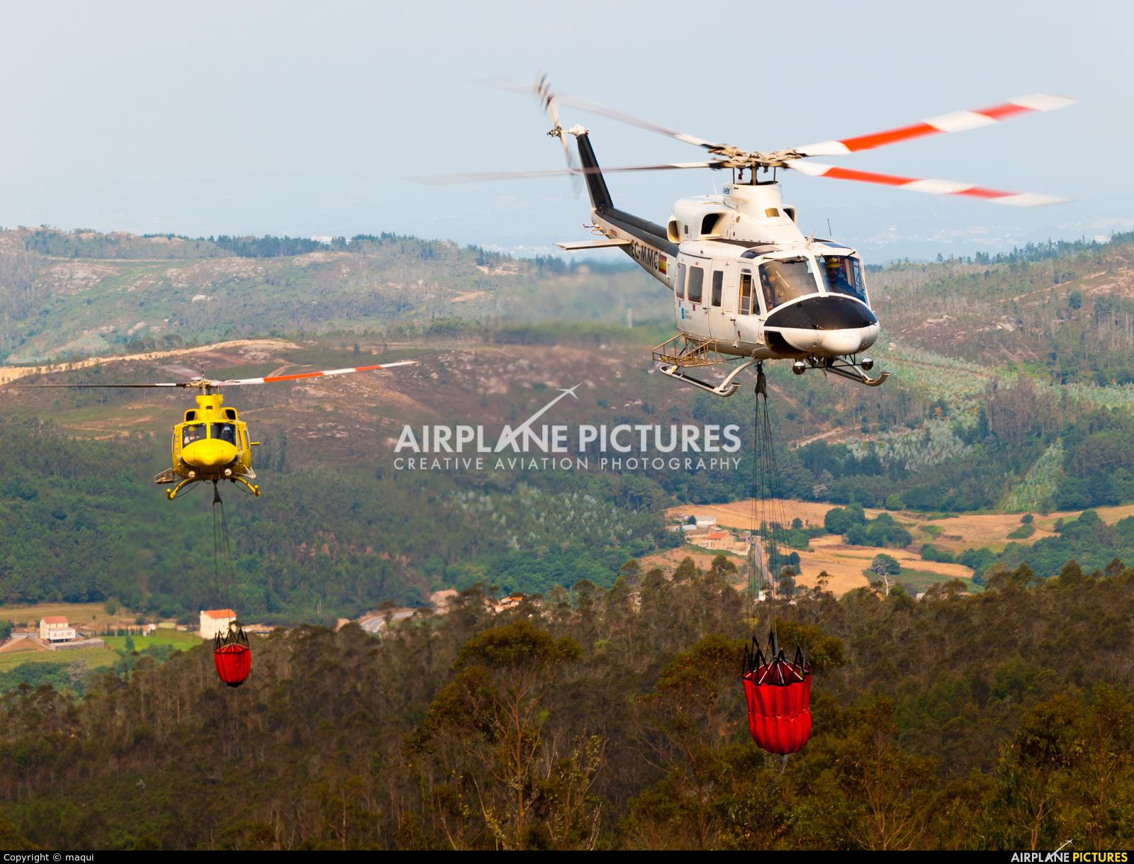 INAER EC-MMC aircraft at La Coruña - Off Airport