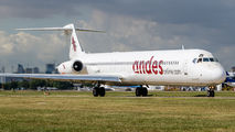 LV-AYD - Andes Lineas Aereas  McDonnell Douglas MD-83 aircraft