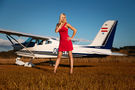 - Aviation Glamour - Aviation Glamour - Model - at Undisclosed location airport