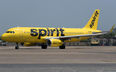 N645NK - Spirit Airlines Airbus A320