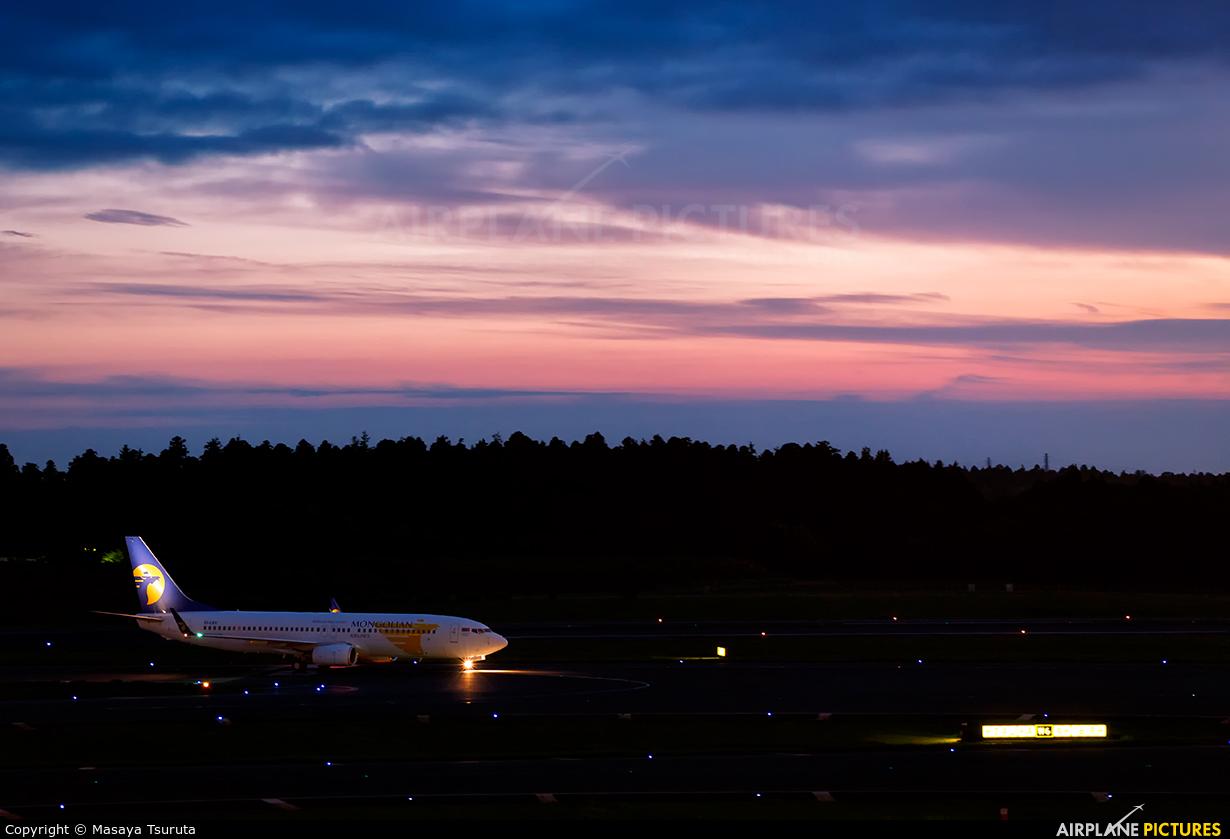Mongolian Airlines EI-CXV aircraft at Tokyo - Narita Intl