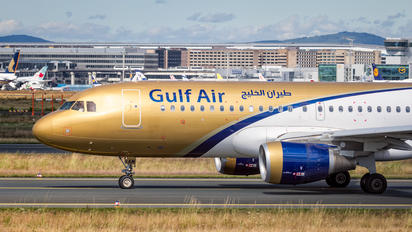 A9C-AM - Gulf Air Airbus A320