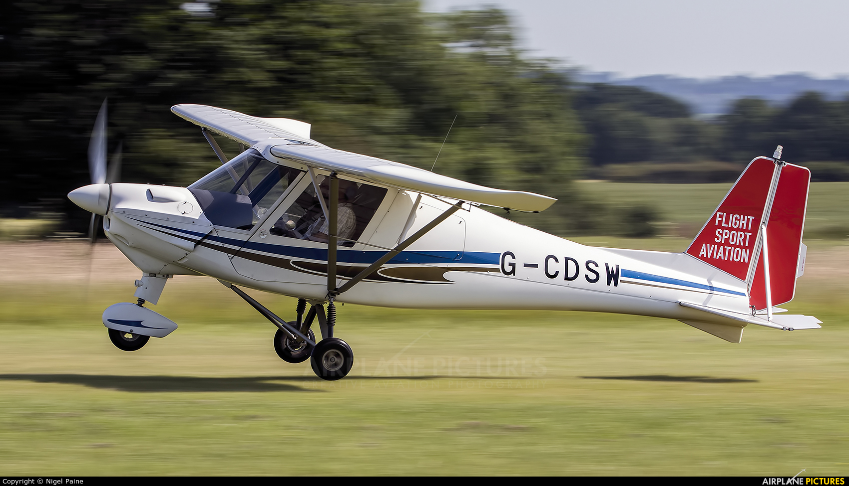 Private G-CDSW aircraft at Lashenden / Headcorn
