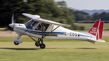 G-CDSW - Private Ikarus (Comco) C42 aircraft