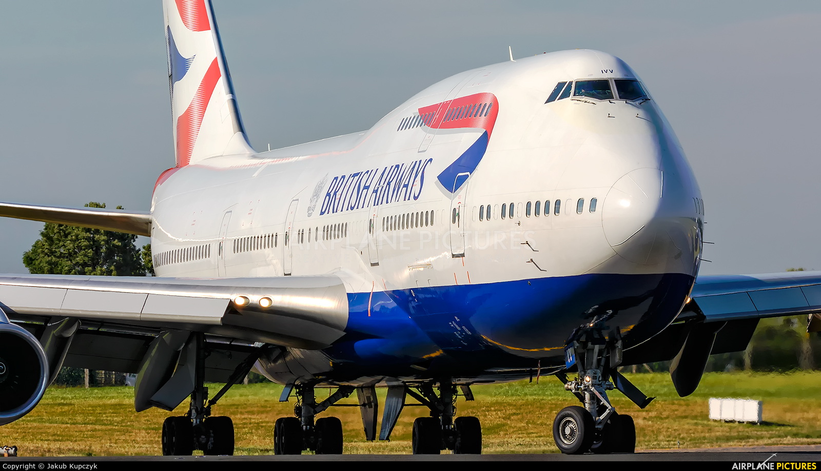 British Airways G-CIVV aircraft at Dublin