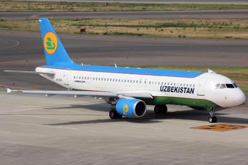 UK32016 - Uzbekistan Airways Airbus A320