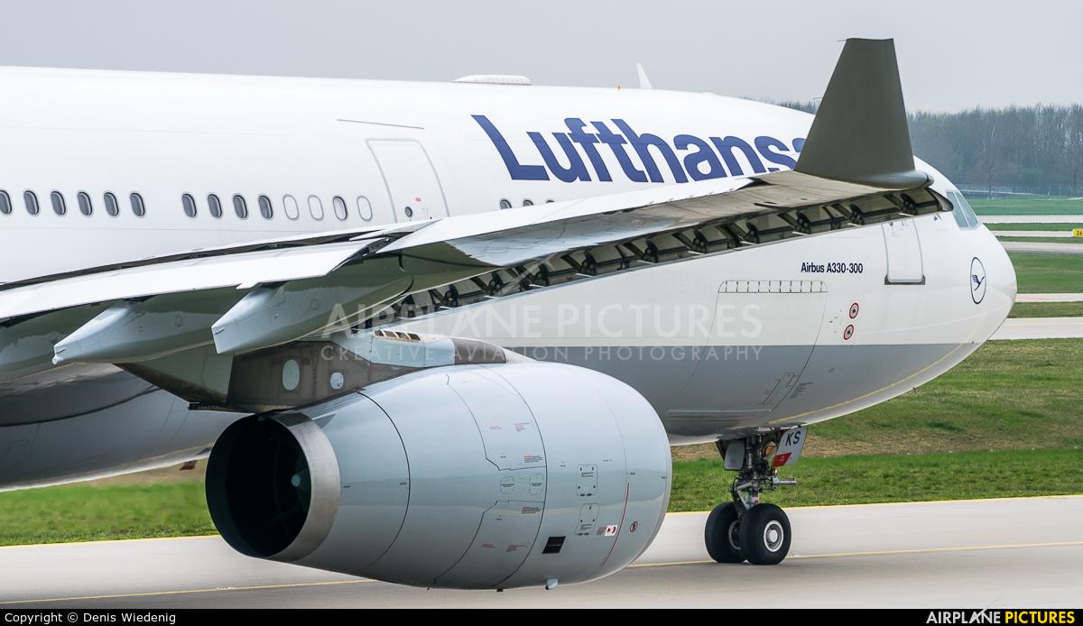 Lufthansa D-AIKS aircraft at Munich