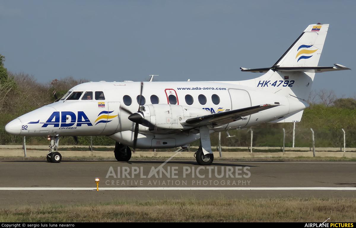 ADA Aerolinea de Antioquia HK-4792 aircraft at Cartagena - Rafael Núñez